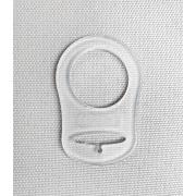 Pacifier clip Bunny grey
