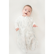 Cotton muslin sleeping bag Blush pink