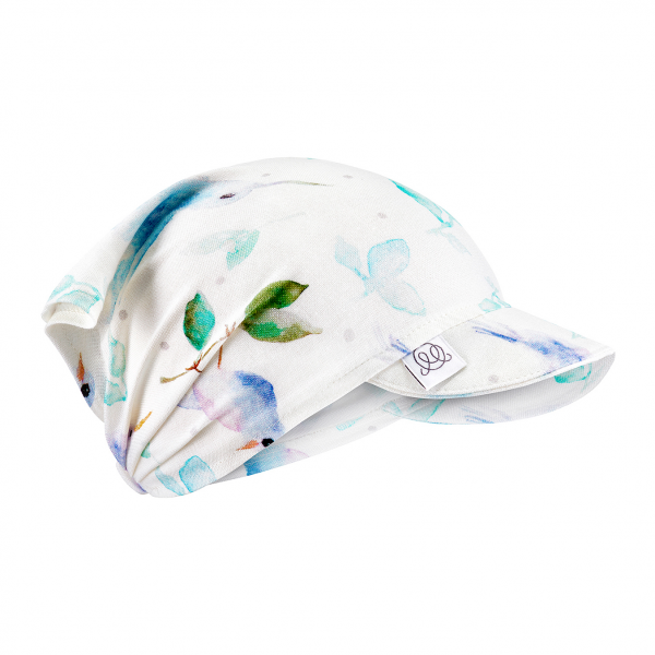 Bamboo visor cap Heavenly birds