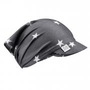 Bamboo visor scarf with elastic - Stars