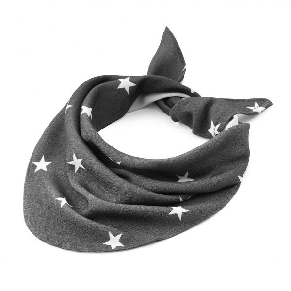 Bamboo triangle scarf Stars