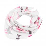 Bamboo triangle scarf Bunnies