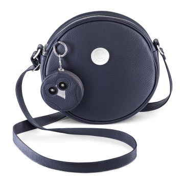 IDA bag with purse owl Navy