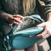 IDA bag with purse owl Navy
