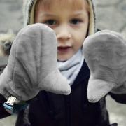 Gloves Love Grey