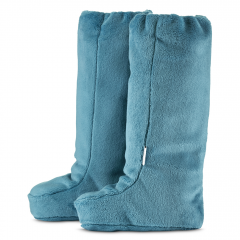 High booties - sea blue