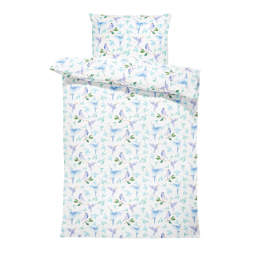Bamboo bedding cover set L Heavenly birds