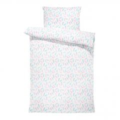 Bamboo bedding cover set M - Paradise feathers