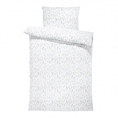 Bamboo bedding cover set M - Heavenly feathers