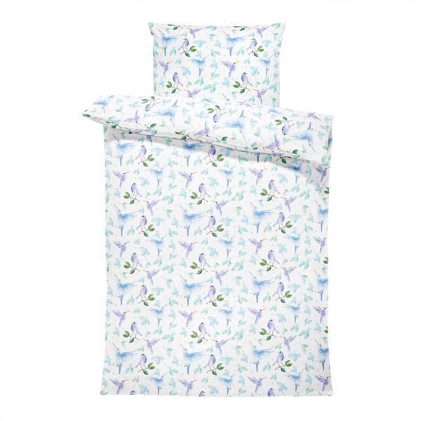 Bamboo bedding cover set M Heavenly birds