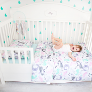 Bamboo bedding cover set M Fawns