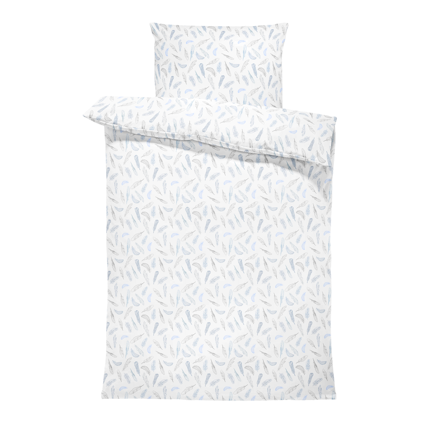 Bamboo bedding cover set S Heavenly feathers