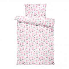 Bamboo bedding cover set S Bunnies