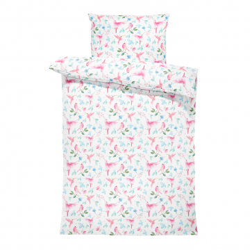 Bamboo bedding cover set S Paradise birds
