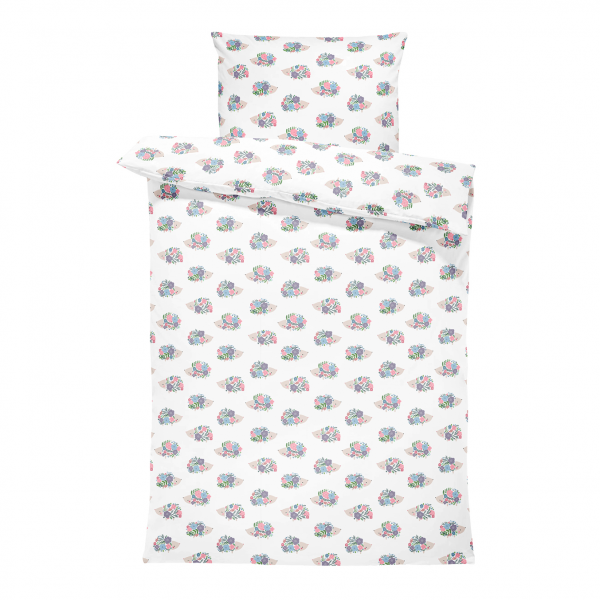 Bamboo bedding cover set S Hedgehogs girls