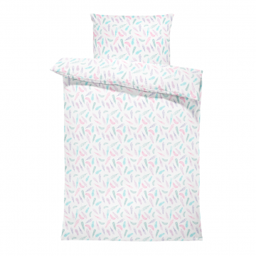 Bamboo bedding set with filling L Paradise feathers