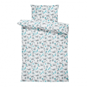 Bamboo bedding set with filling L wolves