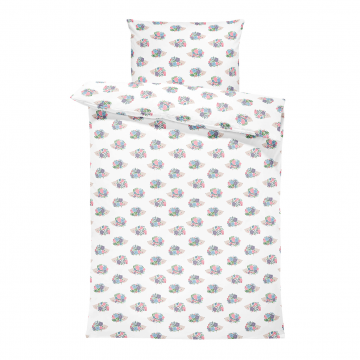 Bamboo bedding set with filling L Hedgehogs girls