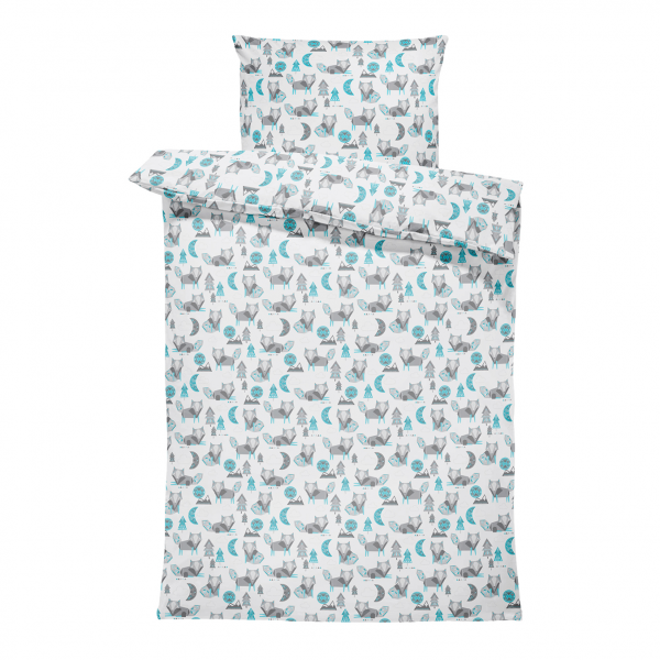 Bamboo bedding set with filling XS Wolves