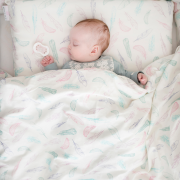 Bamboo bedding set with filling XS Sea friends