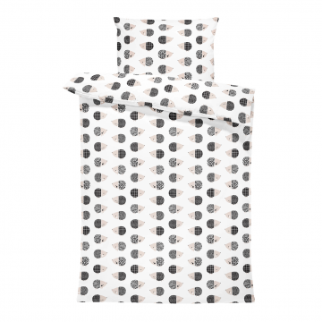 Bamboo bedding set with filling XS Hedgehogs boys
