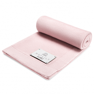 Bamboolove blanket - dusty pink