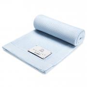 Bamboolove blanket - light blue