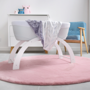 Kocyk light Luxe Rajskie ptaszki Pink