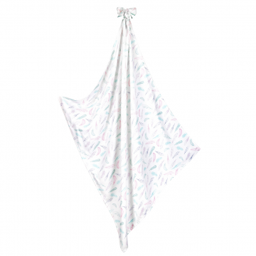 Summer blanket XL Paradise feathers