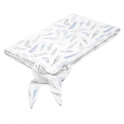 Summer blanket Heavenly feathers