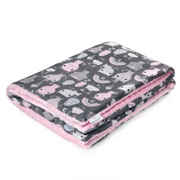 Warm bamboo blanket XL Kotahontas Blush