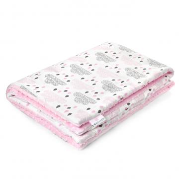 Warm bamboo blanket XL Blush rain Blush
