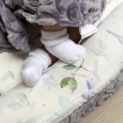 Baby nest Luxe Heavenly birds Grey