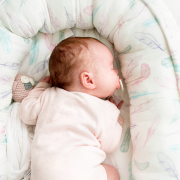 Baby nest Luxe Paradise birds Pink