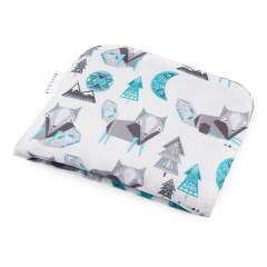 Bamboo baby pillow Wolves