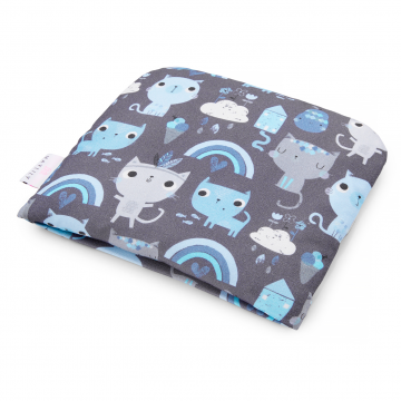 Bamboo baby pillow Indiana cat