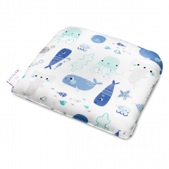 Bamboo baby pillow Sea friends