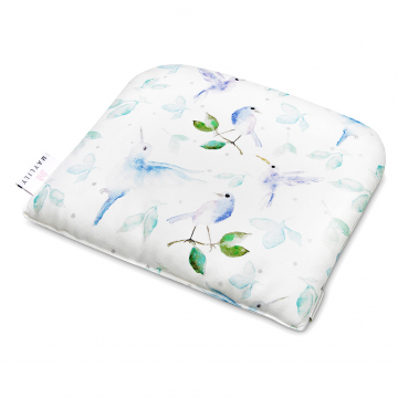 Bamboo baby pillow Heavenly birds