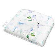 Bamboo baby pillow Heavenly birds