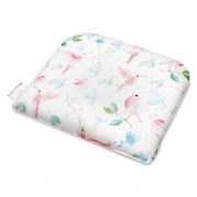 Bamboo baby pillow - Paradise birds