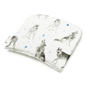 Bamboo baby pillow Star wolves