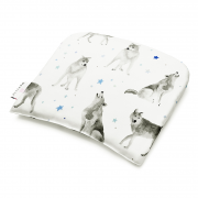 Bamboo baby pillow - Star wolves
