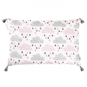 Double Bamboo pillow Blush rain