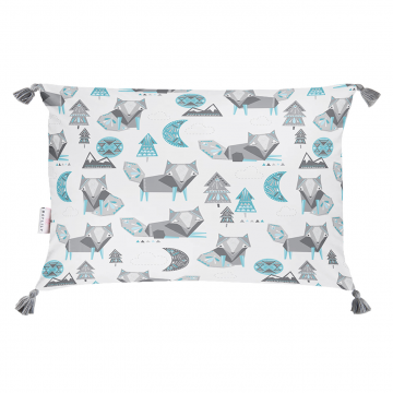 Double bamboo pillow Wolves