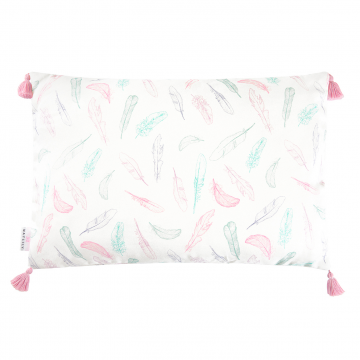 Double bamboo pillow Paradise feathers