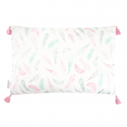 Double bamboo pillow - Paradise feathers