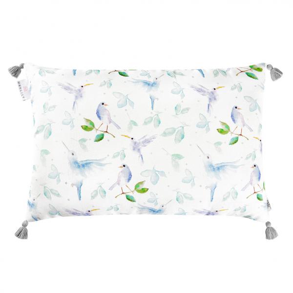 Double bamboo pillow Heavenly birds