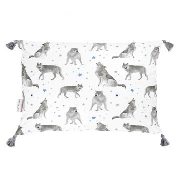 Double bamboo pillow Star wolves