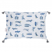Double bamboo pillow - Happy planes