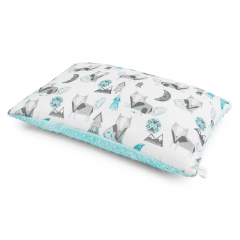 Bamboo fluffy pillow Wolves - Ice